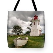 Lighthouse Victoria By The Sea Pei Tote Bag