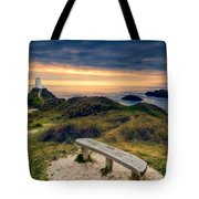 Lighthouse View Tote Bag