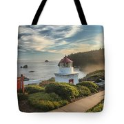 Lighthouse Walk Tote Bag by Adam Jewell