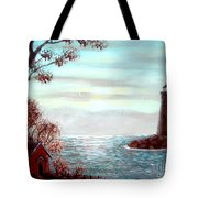 Lighthousekeepers Home Tote Bag