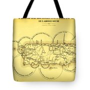 Lighthouses In Puerto Rico 1900s Tote Bag