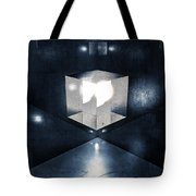Lighting In Cube Tote Bag