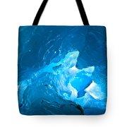 Lighting In Nigardsbreen Glacier Grotto 3 Tote Bag