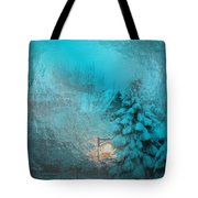 Lighting The Way Through A Frosted Dream Tote Bag
