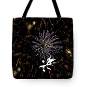 Lighting Up The Sky Tote Bag