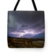 Lightning 32 Tote Bag