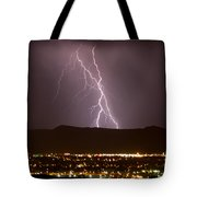 Lightning 5 Tote Bag