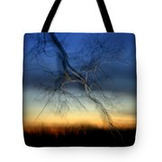Lightning Branches Tote Bag