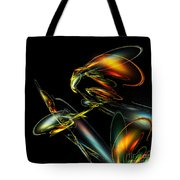 Lightning Bug Tote Bag