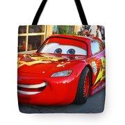 Lightning Mcqueen Tote Bag