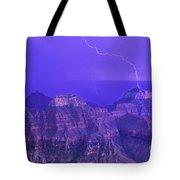 Lightning Storm North Rim Grand Canyon National Park Arizona Tote Bag