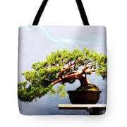Lightning Strikes Again Tote Bag