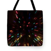 Lights In Motion Tote Bag