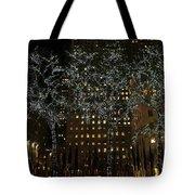 Lights In Rockefeller Center Tote Bag