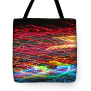 Lights In The Fast Lane Tote Bag