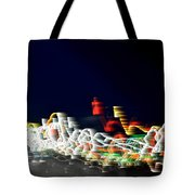 Lights In The Wind II Tote Bag