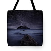 Lights Of The Past Tote Bag by Jorge Maia