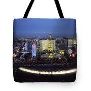 Lights Of Vegas Tote Bag