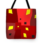 Lights On Lights Off Tote Bag