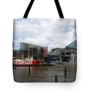 Lightship 116 - Baltimore Harbor Tote Bag