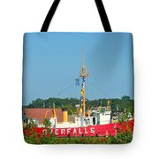 Lightship Overfalls Tote Bag