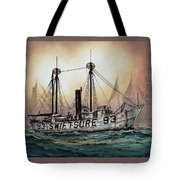 Lightship Swiftsure Tote Bag