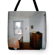 Ligthouse Bedroom At Drum Point Tote Bag