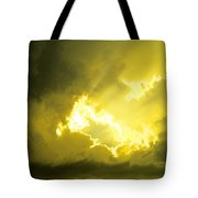 Like A Voice Through The Clouds Tote Bag