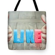 Like Tote Bag by Tom Gowanlock
