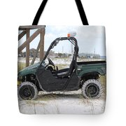 Lil Beach Jeep Tote Bag