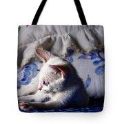 Lil Blue Tote Bag