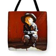 Lil Cowboy Afternoon Tote Bag