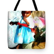 Lil Girl  Tote Bag