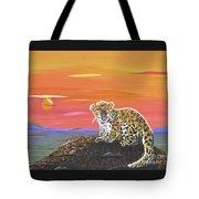 Lil' Leopard Tote Bag