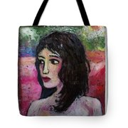 lil' May Tote Bag by Mykul Anjelo