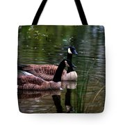 Lila Goose And The King Tote Bag