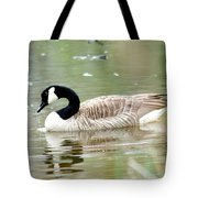 Lila Goose Queen Of The Pond 2 Tote Bag