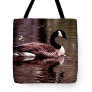 Lila Queen Of The Pond Tote Bag