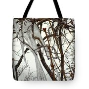 Lilac And Ice Tote Bag