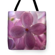 Lilac Bloom Tote Bag
