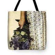 Lilac Bouquet Tote Bag