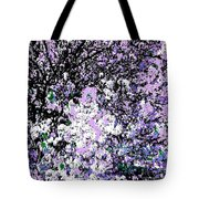 Lilac Crepe Myrtle Bloom  Tote Bag