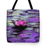 Lilac Lily Pond Tote Bag