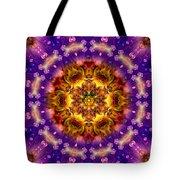 Sacred G Mandala 2 Tote Bag