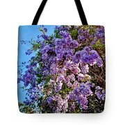 Lilac Tree Tote Bag