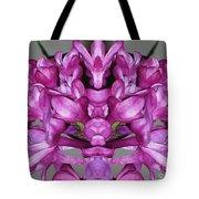 Lilac Twins Tote Bag
