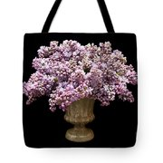 Lilacs In A Green Vase - Flowers - Spring Bouquet Tote Bag