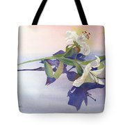 Lilies At Rest Tote Bag