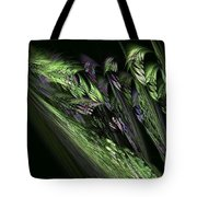 Lilies Of The Fractal Valley Tote Bag