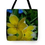 Lilium Of Gold Tote Bag